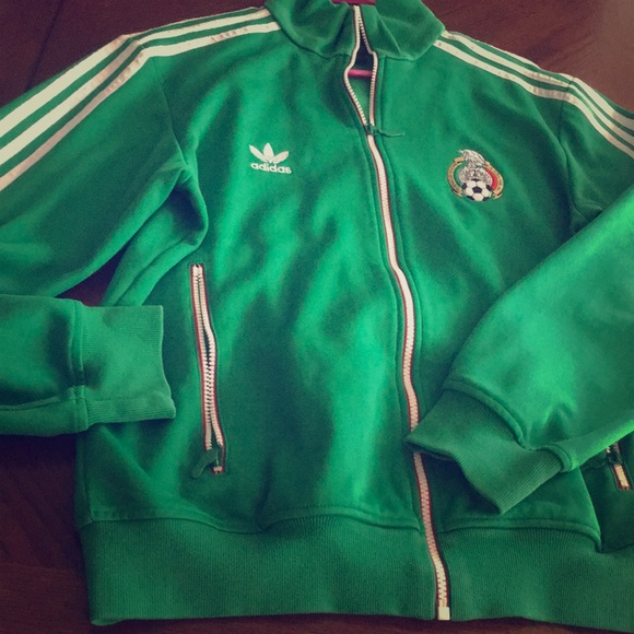 b5bafd9a497 adidas Other - Adidas Mexico soccer track jacket